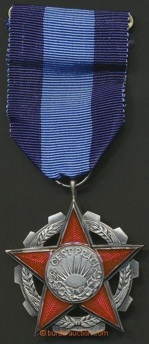 139385 - 1970 ČSR II.  Řád práce, Ag, punc 0,925, číslo 8106, ministu