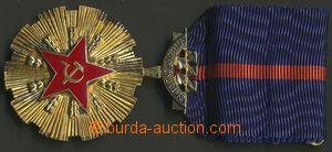 139386 - 1970 ČSR II.  Řád Vítězného února, Ag, pozlacený, číslo 413,