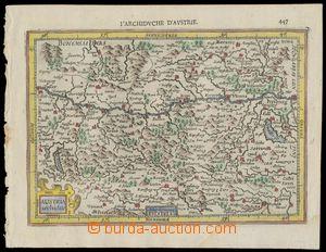 139699 - 1607 MAPA RAKOUSKA  Austria Archiduc., Gerard Mercator, vydá