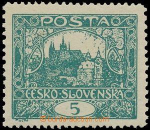 139753 -  Pof.4Fa, 5h tmavě modrozelená, ŘZ 13¾:11½, zk. Pi