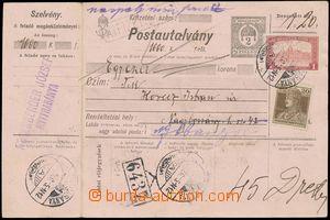 139771 - 1918 peněžní poukázka maďarského původu 2f dofr. zn. Mi.203,