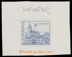 142248 - 1993 ZT Zsf.3, Ružomberok 5Sk, zkusmý tisk na výstřižku kart