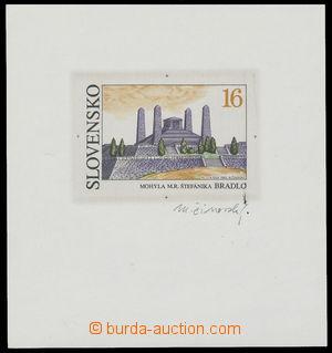 142251 - 1993 ZT  Zsf.23, Bradlo 16Sk, zkusmý tisk na výstřižku, s po