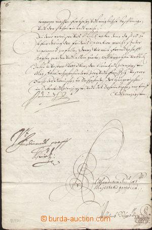 142405 - 1652 FERDINAND III. (1608–1657), císař římský, král český a