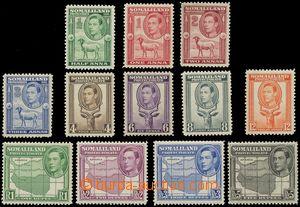 143054 - 1938 Mi.77-88; SG.93-104, Jiří VI., kompletní série, kat. SG