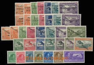 143554 - 1925-30 sestava leteckých známek, Mi.104-110, 111-117, 118-1