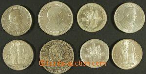 143618 - 1939-45 SLOVENSKO  sestava 8ks Ag pamětních mincí 10Ks 2x 20