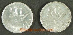 143620 - 1944 SLOVENSKO  sestava 2ks Al mincí 50h