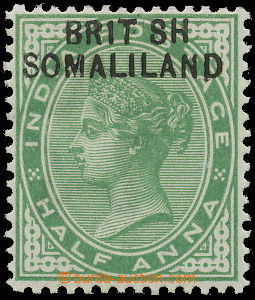 145244 - 1903 SG.1a, Královna Viktorie ½A žlutozelená, chybotisk