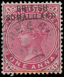 145245 - 1903 SG.2a, Královna Viktorie 1A červená, chybotisk přetisku