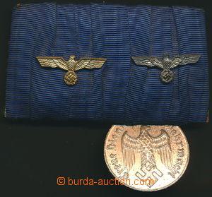 146368 - 1939-45 [SBÍRKY]  MILITARIA / WEHRMACHT  spojka 2 stuh s jed