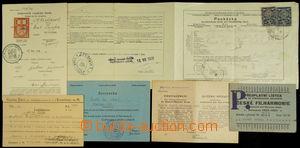 147369 - 1931-40 ČSR I., ČaM  sestava 6ks dokumentů, mj. 2x rybářský