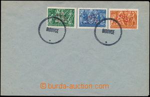 147681 - 1944 BIDOVCE  obálka se 3 maďarskými známkami emise Vánoce,