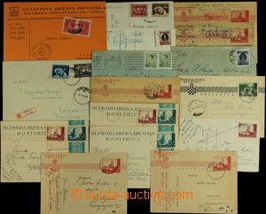 148710 - 1941-1944 [SBÍRKY]  sestava 16ks dopisů a dopisnic, 1x jako