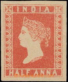 148744 - 1854 SG.1, Královna Viktorie ½A rumělkově červená (verm