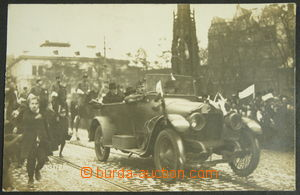 149047 - 1919 MASARYK Thomas G., arrival of President to Prague; Un,