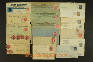 149533 - 1889-1934 [SBÍRKY]  PERFINY sestava 17ks celistvostí vyplace