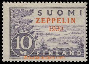 149545 - 1930 Mi.161, výplatní známka Mi.156,10M světle fialová, s če
