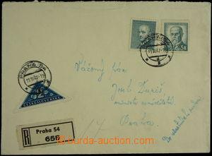149590 - 1947 R-dopis do vlastních rukou adresovaný ministru zeměděls
