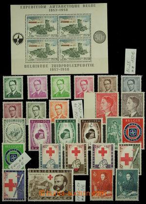 150112 - 1939-70 [SBÍRKY]  menší sbírka zn. Belgie, obsahuje kompletn