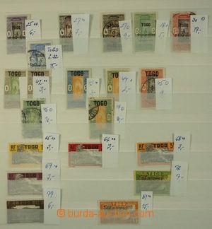 150592 - 1910-80 [SBÍRKY]  sbírka převážně razítkovaných známek, zn.