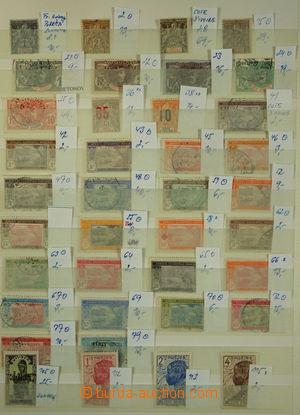 150606 - 1900-1990 [SBÍRKY]  menší sbírka známek, známkové země Pobře