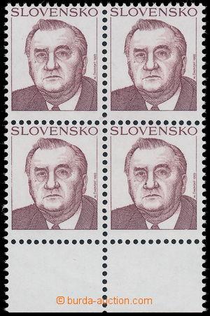 151099 - 1993 Zsf.19VCHa, Kováč, 4-blok, bez nominální hodnoty; kat.