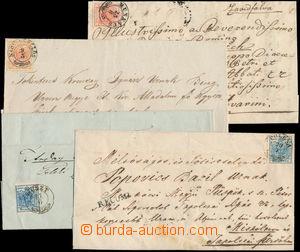 151109 - 1853-55 POLENA, NAGY-SZÖLLÖS, BEREGSZÁSZ, HUSZT, MUNKÁCS  5k