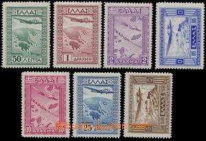 151400 - 1933 Mi.362-368, Letecké, kompletní série; svěží, kat. 300€