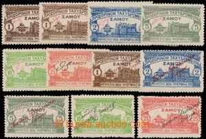 151542 - 1913-15 Mi.15-19, 32-36, sestava 2 kompletních sérií; u nás