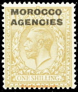 151590 - 1925 BRITSKÁ POŠTA v MAROKU  Mi.60, král Jiří V. 1Sh okrově