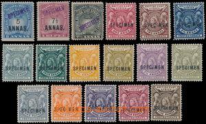 151952 - 1894-1896 SG.27, 28, 30, Koruna 5A, 7½A červená, 7&#189
