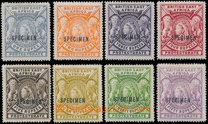 151953 - 1897 SG.92-99, Královna Viktorie 1R-50R, kompletní vydání s