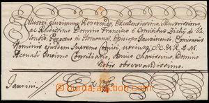 152143 - 1767 NAGY SZÖLLÖSZ (Vynohradiv)  přebal skládaného Ex Offo d