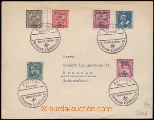 152477 - 1938 BRAUNAU  filateisticky ovlivněný dopis zaslaný do Broum
