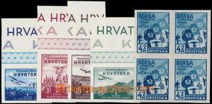 152803 - 1941-1942 Mi.69U, Výstava proti bolševismu 4K, nezoubkovaný