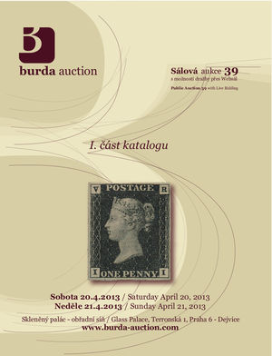 Public Auction 39 - aukční katalog