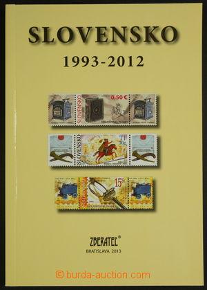 154216 - 2013 SLOVENSKO 1993-2012, specializovaný katalog slovenských