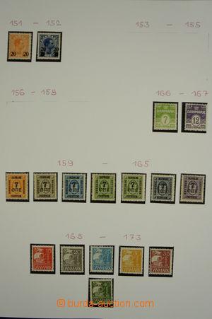 156292 - 1926-2005 [SBÍRKY]  GENERÁLNÍ  pěkná sbírka, od 1942 téměř k