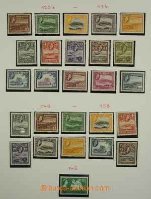 156295 - 1946-1972 [SBÍRKY] COMMONWEALTH  velmi pěkná sbírka na liste