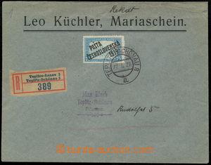 157628 / 1943 - Filatelie / ČSR I. / PČ 1919