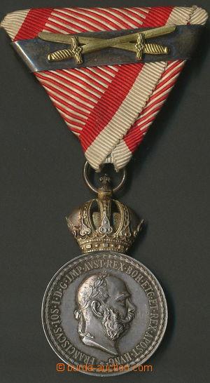 157804 - 1848-1916 FJ I., Záslužná medaile Signum laudis na vojenské
