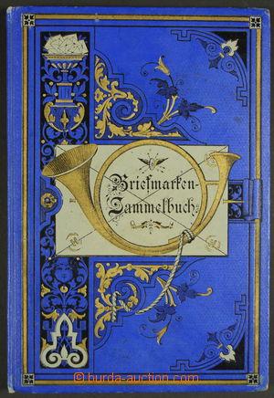 157945 - 1888 NĚMECKO Briefmarken - Sammelbuch, Kleine Oktav - Ausgab