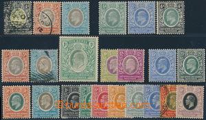 158607 - 1903-1912 SG.26, 37-42, 23ks ze sérií Edvard VII., Jiří V.,