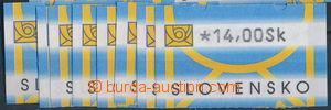 158886 - 2001 Zber.AT1 I, 1.série automatových známek, hodnoty 5,50 -