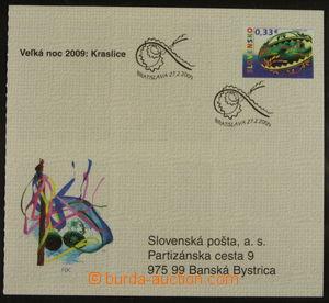 158889 - 2009 Zsf.ZZ63, Velikonoce, první samolepící známkový sešitek