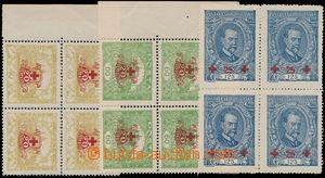 158962 -  Pof.170-172, kompletní série ve 4-blocích, z toho hodnota 4