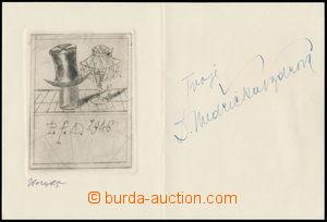 159008 / 1460 - Autogramy, rukopisy / Herci, zpěváci
