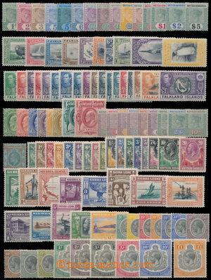 159374 - 1860-1970 [SBÍRKY]  COMMONWEALTH  mimořádně rozsáhlá sbírka