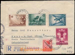 159624 / 222 - Filatelie / Evropa / Německo / Obsazená území